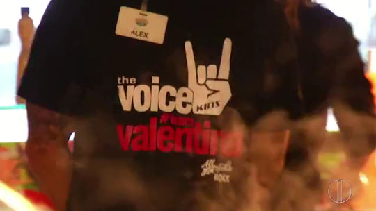 #TeamValentina: torcida petropolitana se prepara para final do 'The Voice Kids'