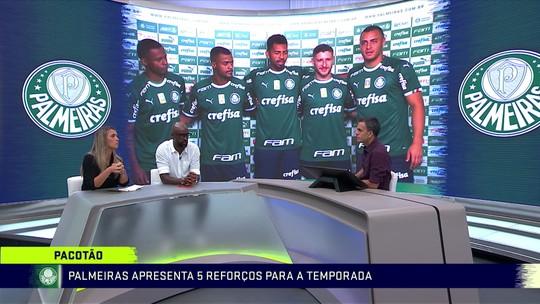 """Comentaristas veem Palmeiras sem necessidade de pratas da casa: """"Não precisa da base nesse momento"""""""