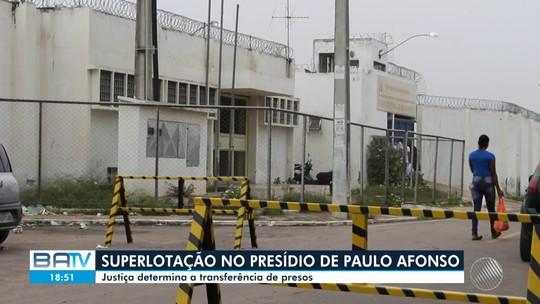 Quase um mês após Justiça determinar transferência de detentos, presídio de Paulo Afonso segue superlotado