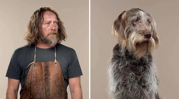 Série retrata similaridade entre pets e seus donos (Foto: Reprodução/gerrardgethings.com)