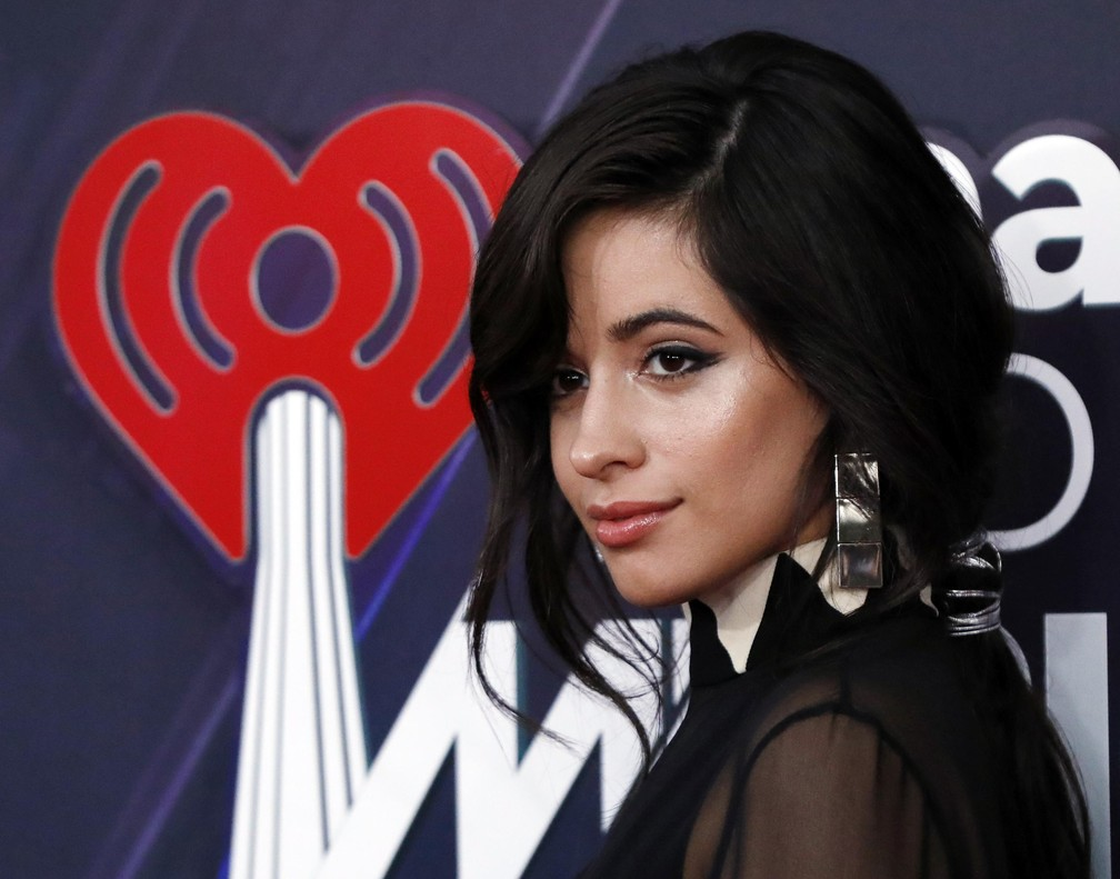 Camila Cabello na premiação do iHeartRadio Music Awards 2018 (Foto: REUTERS/Mario Anzuoni)
