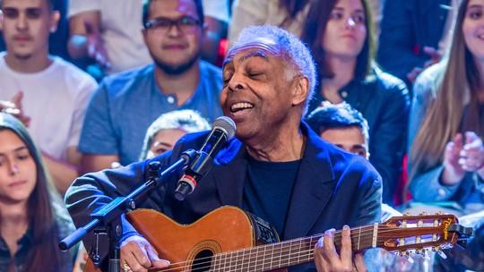 Gilberto Gil diz que espera estar vivo para ver uma tataraneta nascer: 'Se a vida quiser e me der condição'