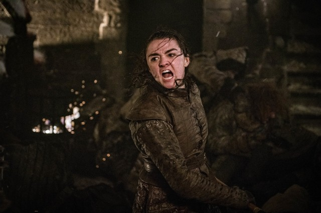 Arya em cena de 'Game of Thrones' (Foto: HBO)