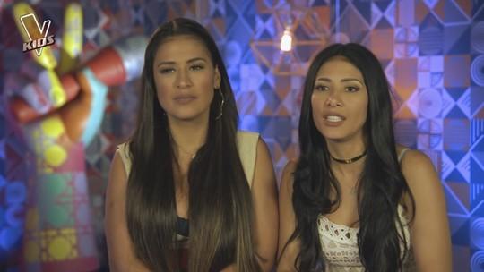 'The Voice Kids': Simone & Simaria comentam terceiro e último dia de Batalhas de seu time