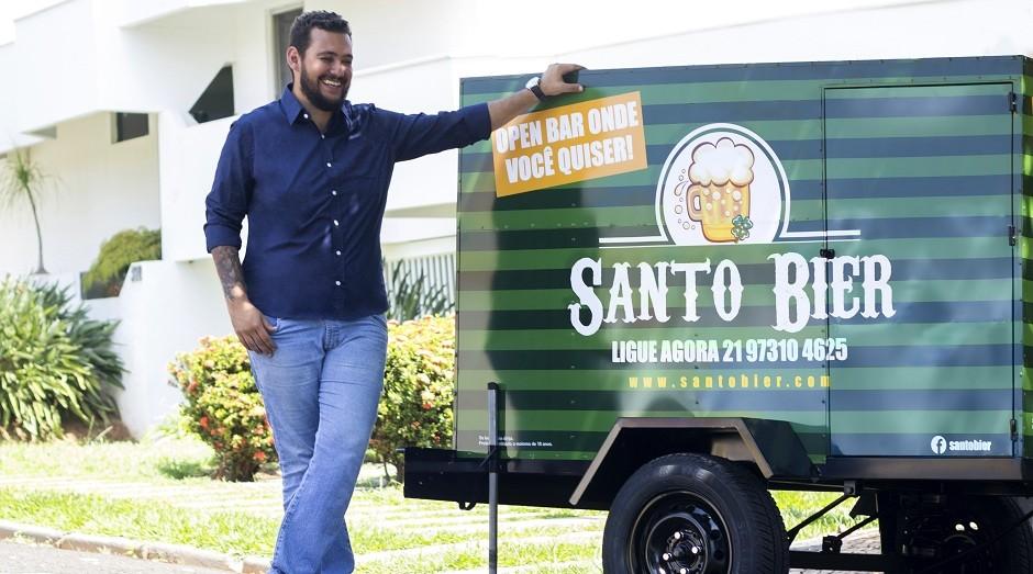 Raphael Lanfredi, fundador da Santo Bier (Foto: Divulgação)