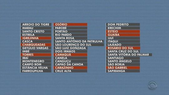 Onze cidades do RS estão em alerta devido ao baixo cadastramento biométrico eleitoral