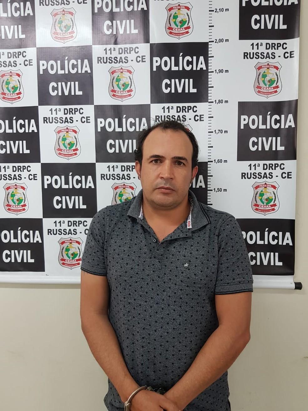 Edmar Batista é procurado por estelionato pelas polícias dos estados de Sergipe, Mato Grosso do Sul e Tocantins. — Foto: Polícia Civil/ Divulgação