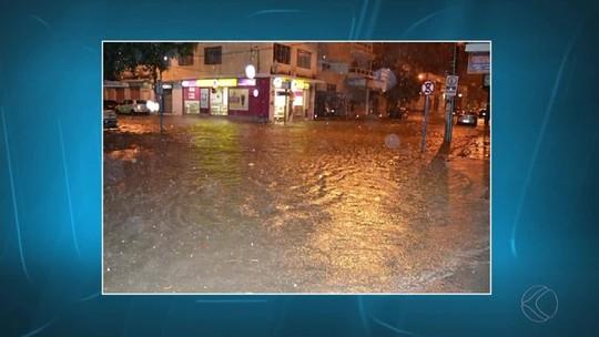 Cidades da Zona da Mata enfrentam problemas por causa da chuva