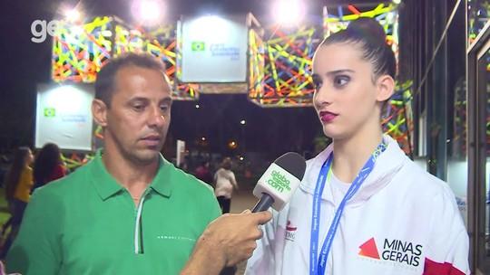 Neta do vento: filha do ex-atacante Euller brilha nos Jogos Escolares da Juventude