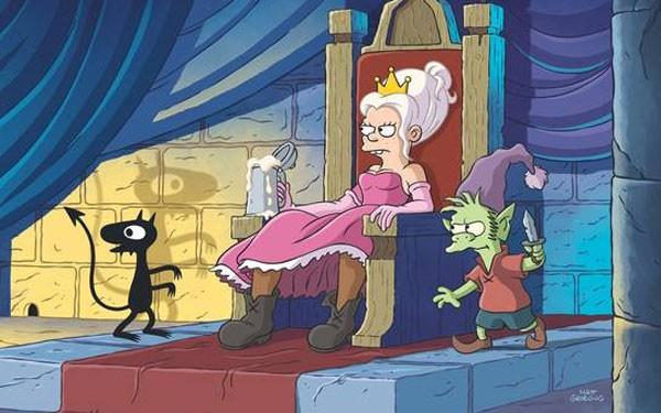 Cartunista americano Matt Groening criou uma nova série animada chamada Disenchantment (Foto: Reprodução)