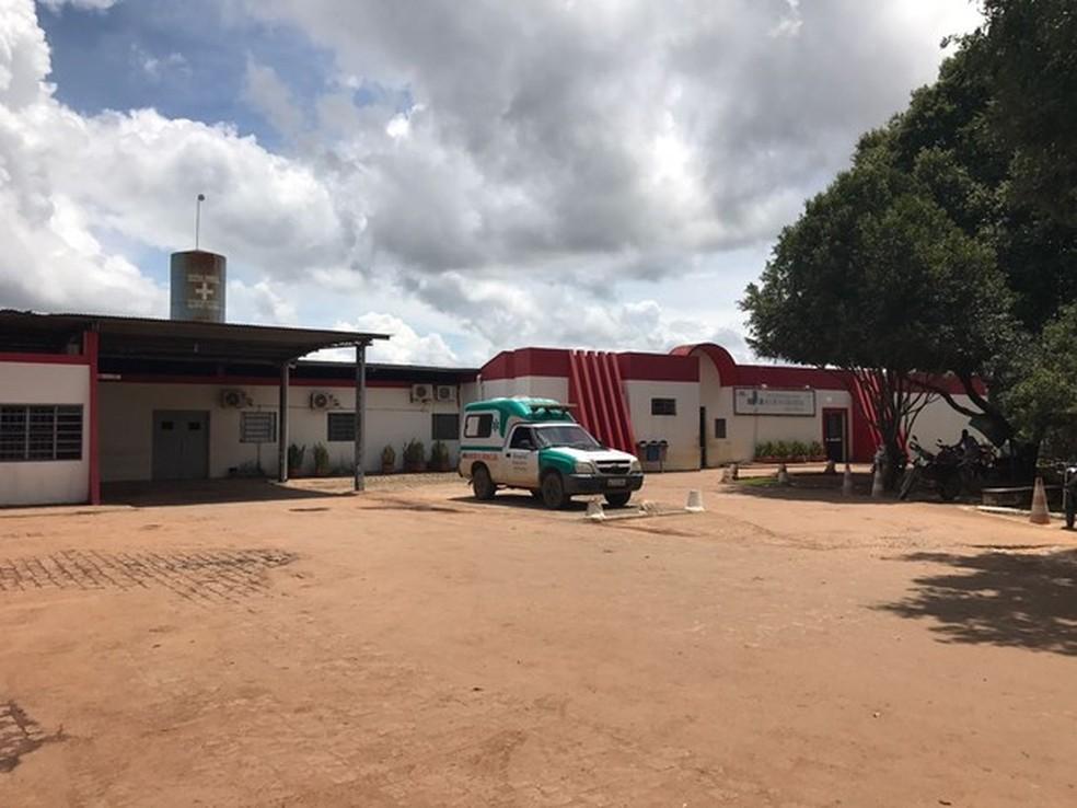 Hospital Regional de Alta Floresta — Foto: (Foto: Carlos Eduardo Barbosa Lima/ Arquivo pessoal)