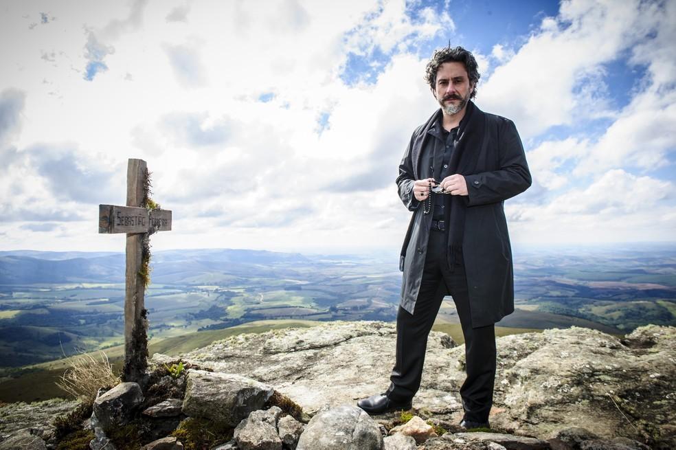 Alexandre Nero é José Alfredo, o protagonista de 'Império' — Foto: Alex Carvalho/Globo
