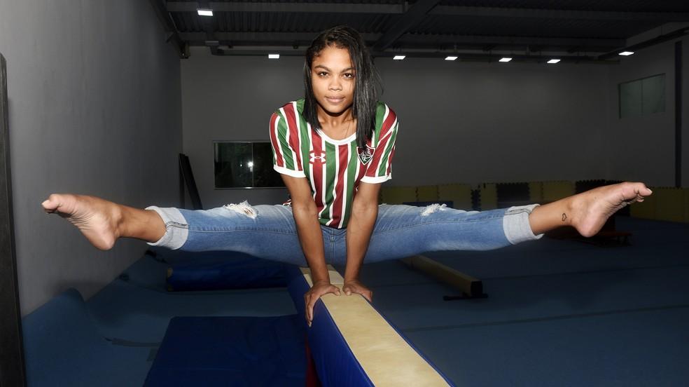 449be26dc0 Fluminense anuncia Letícia Costa para a ginástica artística ...