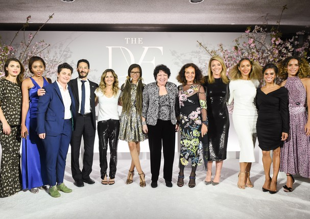 Convidadas e ganhadoras do prêmio DVF (Foto: BFA for DVF Awards)