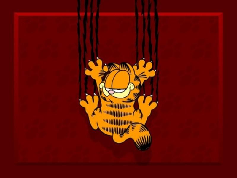 Papel De Parede Cartoon: Papel De Parede: Garfield