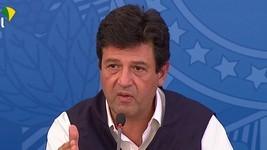 Mandetta pede 'grau máximo de distanciamento' (Reprodução/TV Brasil)