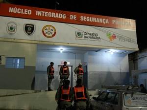 Núcleo Integrado de Segurança atua no Parque do Povo no São João de Campina Grande (Foto: Taiguara Rangel/G1)