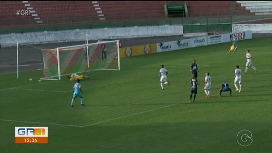 Técnico do Salgueiro elogia rendimento do time após empate na estreia da Série D
