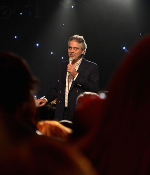 O tenor italiano Andrea Bocelli  (Foto: Getty Images)