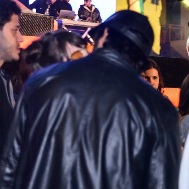 Agatha e Rodrigo Simas curtem festa juntinhos (Foto: AgNews/Francisco Silva )