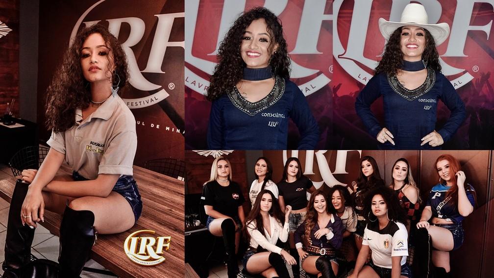 Lorrayne Santos, candidata à rainha do Lavras Rodeo Festival 2019 — Foto: Clinton Barbosa