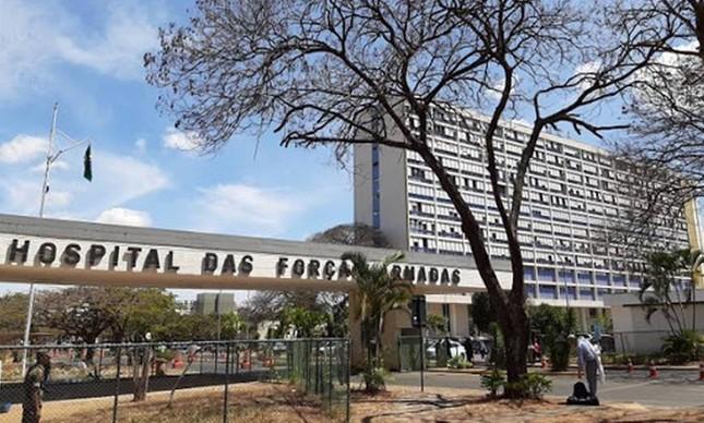 Hospital das Forças Armadas, em Brasília, uma das unidades militares de saúde