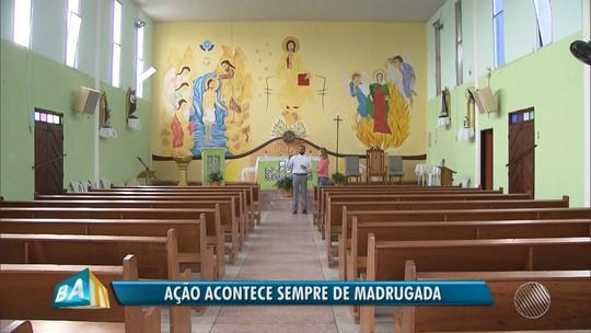 Polícia investiga se igrejas furtadas em Camaçari foram invadidas pelos mesmos criminosos