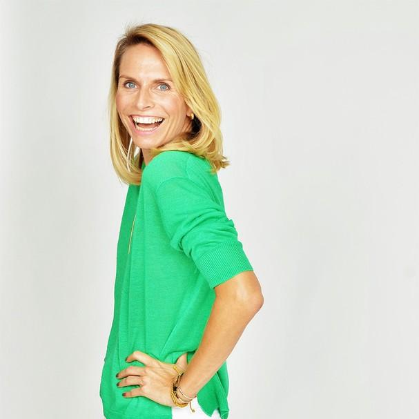 Yvonne Hendrych, fundadora da Workinbalance, empresa especializada no desenvolvimento pessoal, treinamento e orientação profissional (Foto: Divulgação)