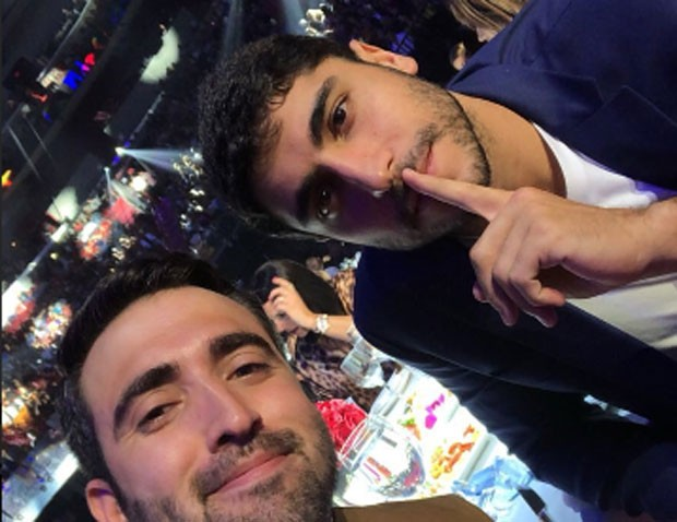 Sam Shahidi e Thiago Magalhães (Foto: Reprodução)