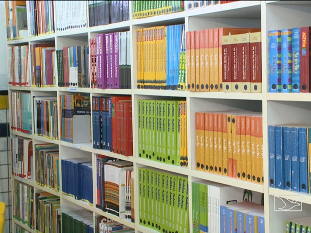 Maranhão é o Estado com menor índice de bibliotecas escolares — Foto: Reprodução/TV Mirante