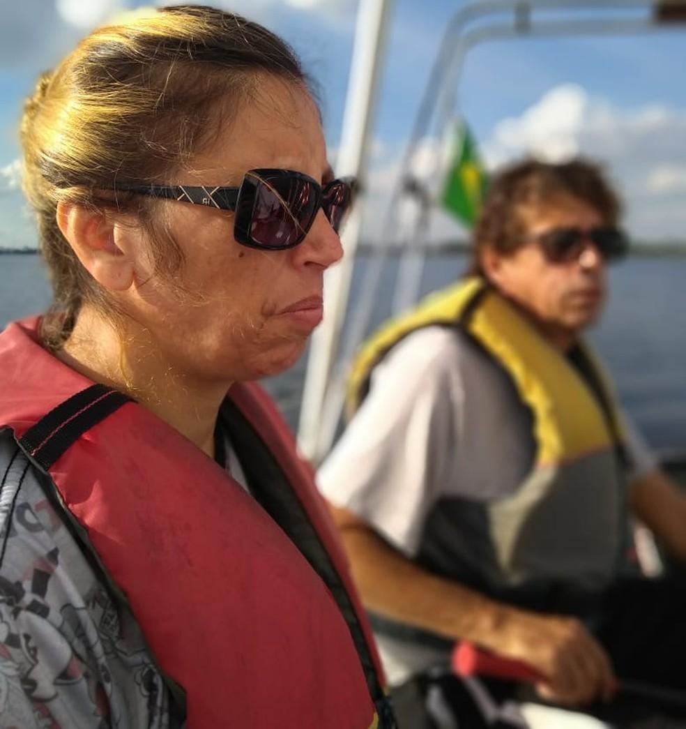 Com cegueira total, Marina Castelani será a comandante da prova — Foto: Divulgação