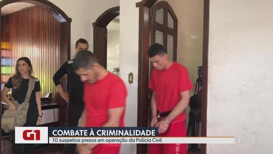 Polícia cumpre nove mandados de prisão em operação contra crimes violentos na Grande BH