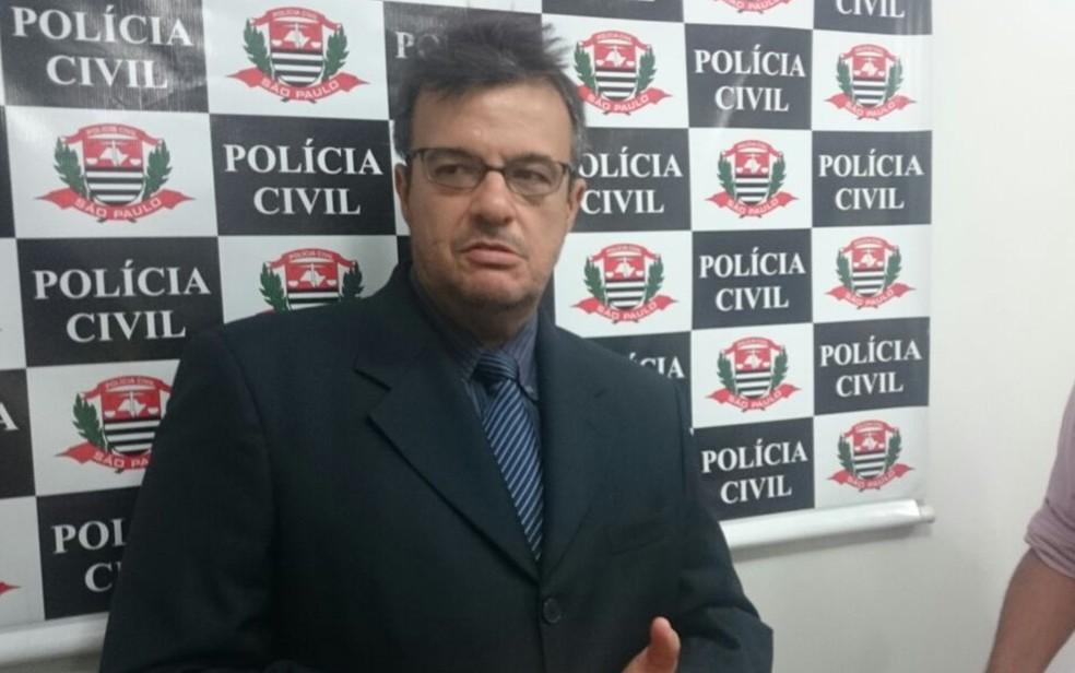 Delegado Alceu, que investiga o caso — Foto: Marcos Lavezo/G1