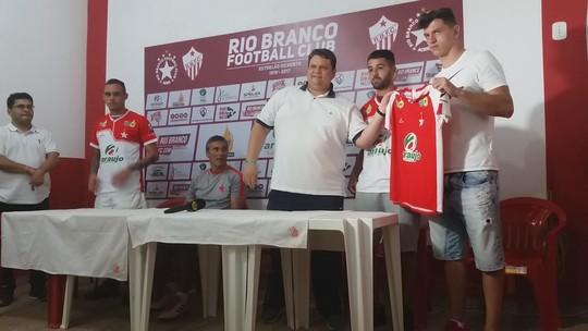 Em campo: Rio Branco-AC anuncia  camisa 9, apresenta reforços e técnico projeta 2019