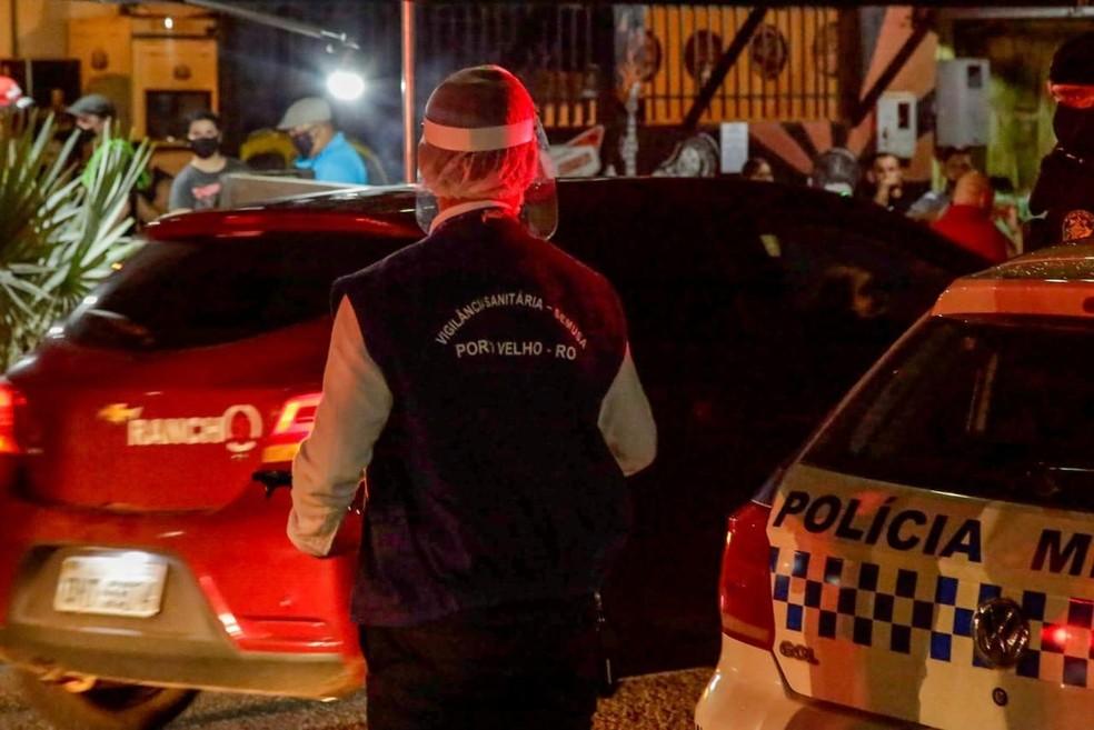 Operação 3ª Onda fechou 17 estabelecimentos em Porto Velho — Foto: Governo de Rondônia/Divulgação