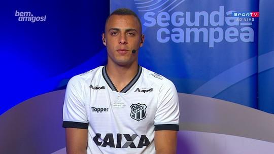 """Fechado com o Palmeiras para 2019, Arthur diz que cabeça está no Ceará: """"Quero sair pelas portas da frente"""""""
