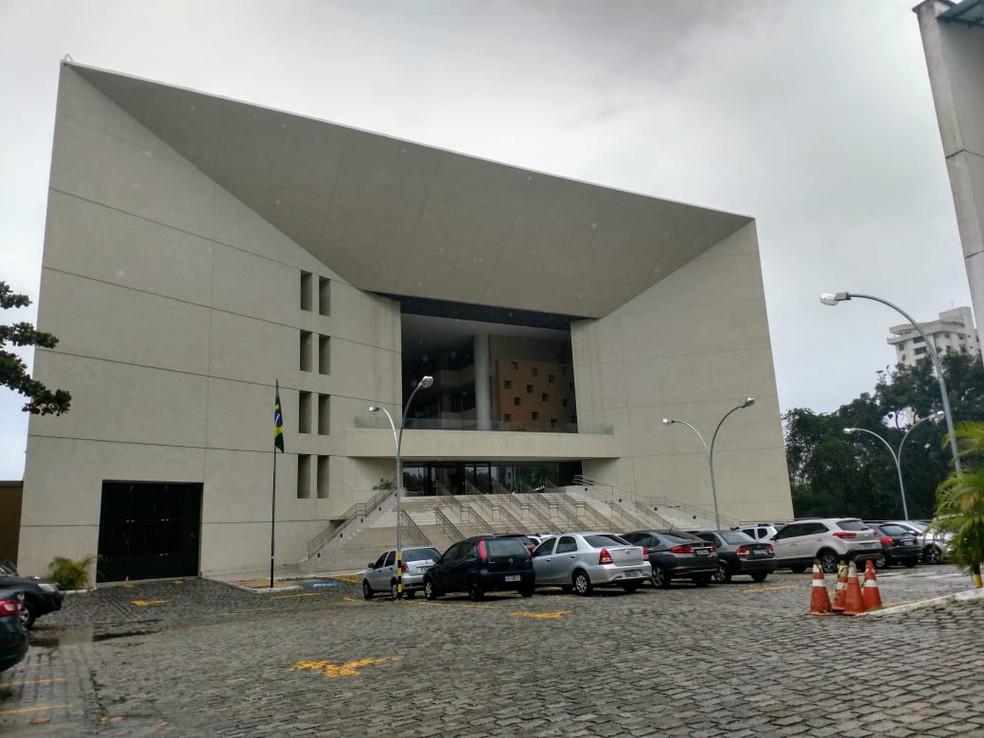 Sede do Tribunal Regional Eleitoral do Rio Grande do Norte, TRE-RN  (Foto: Igor Jácome/G1)
