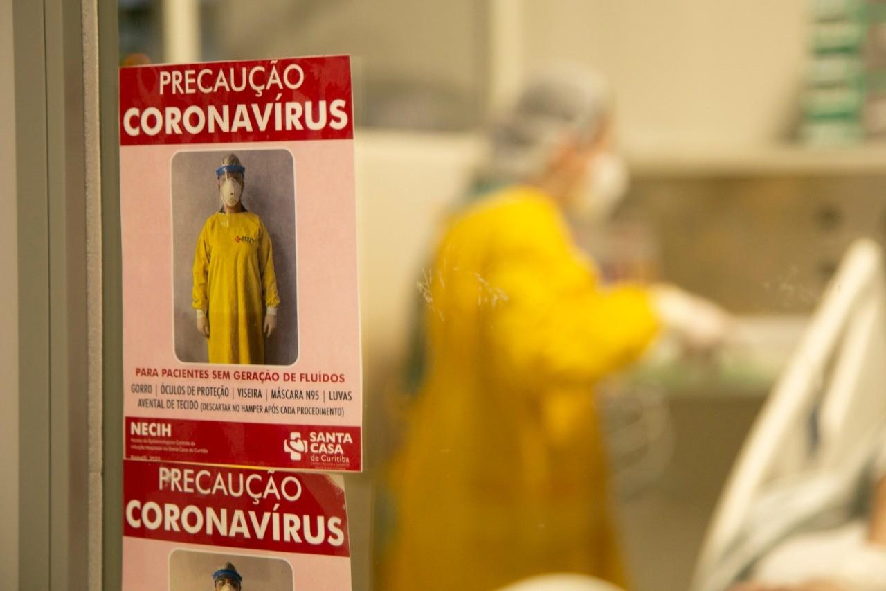 Paraná confirma 4.571 novos casos de Covid-19, aponta boletim; estado tem 27.927 mortes pela doença