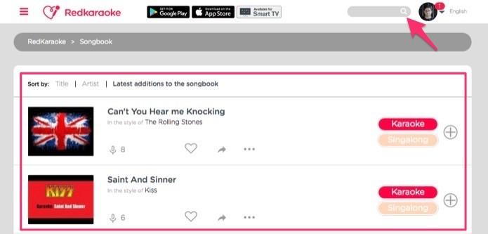 Site de karaokê: como usar o RedKaraoke e cantar com amigos