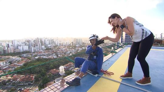 Conheça o alpinismo urbano, a profissão das alturas