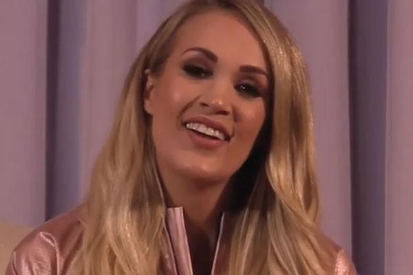 Cantora country Carrie Underwood anunciou que está grávida do segundo filho (Foto: Reprodução/Instagram)