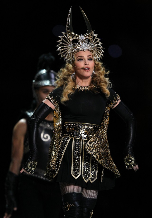 Madonna no Super Bowl (Foto: Getty Images)