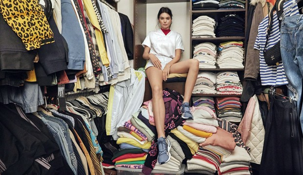 Kendall Jenner em seu apartamento em NY (Foto: The Grosby Group)