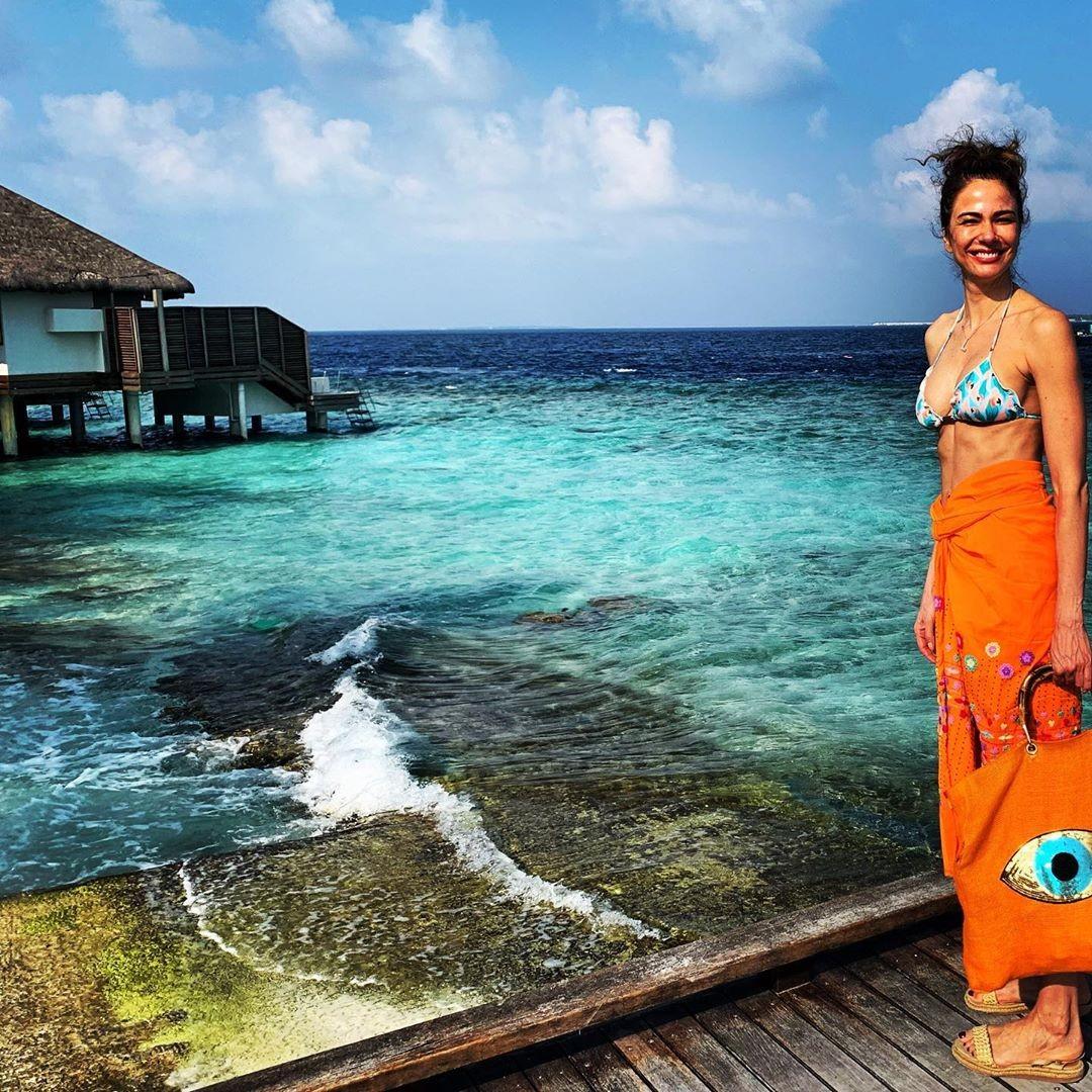 Luciana Gimenez nas Maldivas (Foto: Reprodução / Instagram)