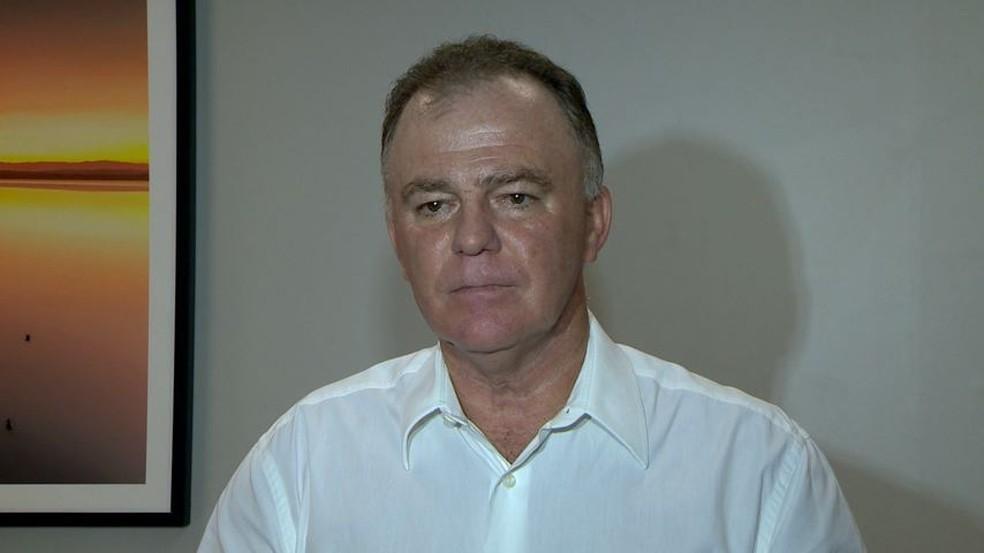 Candidato Renato Casagrande (Foto: Paulo Cordeiro/ TV Gazeta)