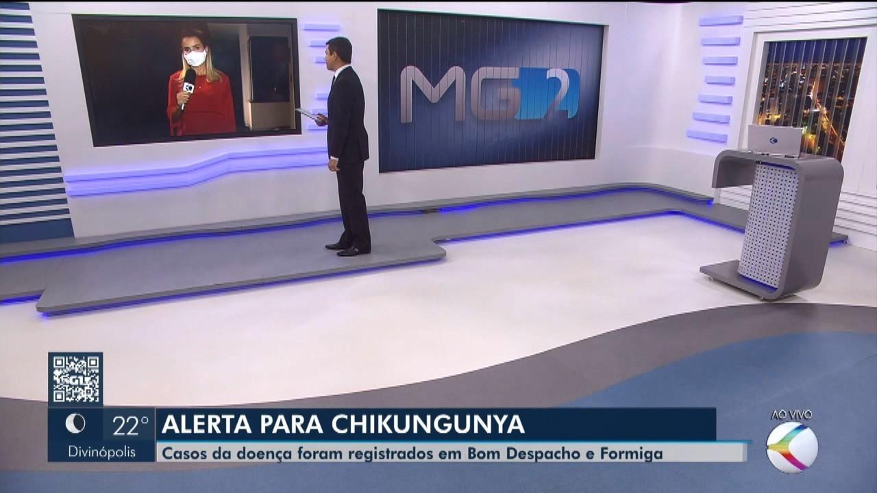 Bom Despacho e Formiga registram casos de chikungunya