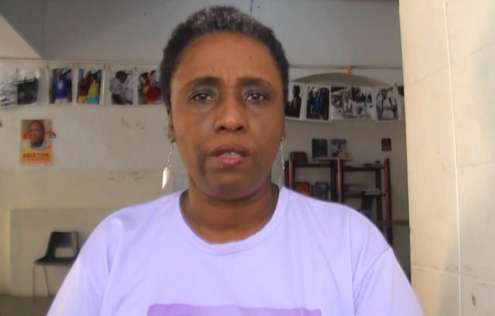 Maria Lúca morreu nesta quarta-feira (Foto: Reprodução/G1 Bahia)