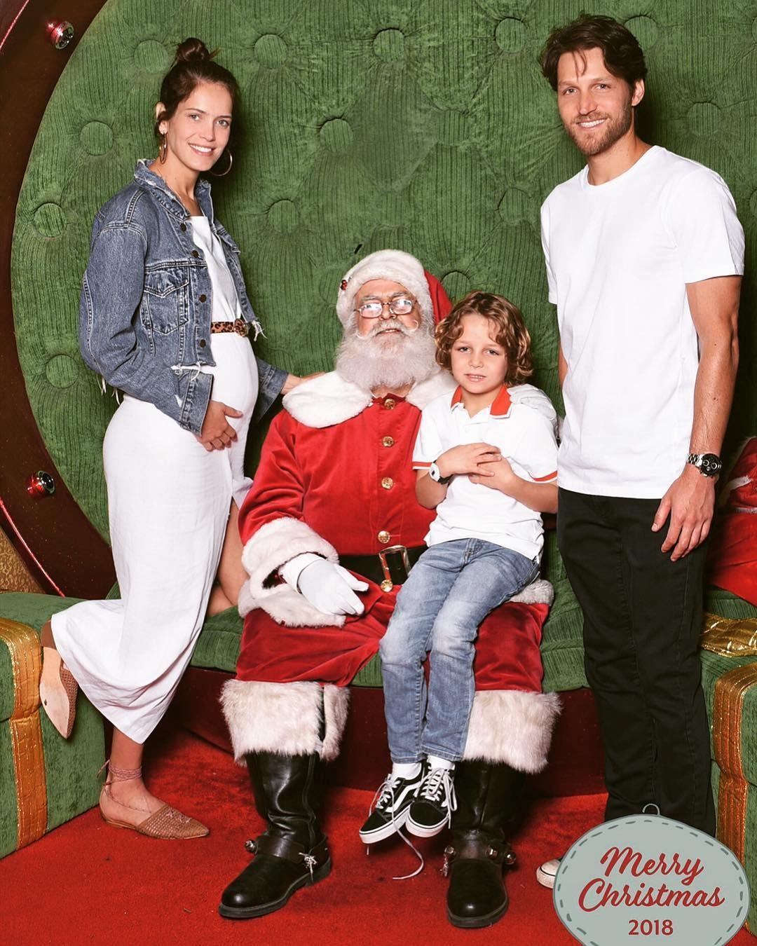 Amanda Wellsh em família (Foto: Reprodução/Instagram)