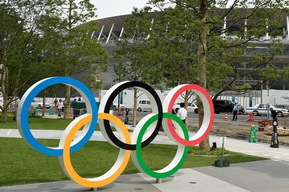 Olimpíadas Tóquio 2020  — Foto: Divulgação/ME