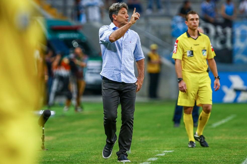 Renato Portaluppi foi campeão da Copa do Brasil em 2016 (Foto: Lucas Uebel / Grêmio, DVG)
